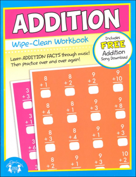 Addition Wipe-Clean Workbook