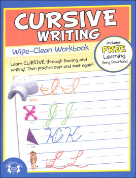 Cursive Writing Wipe-Clean Workbook