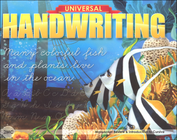 Manuscript Review & Introduction to Cursive - Grade 2MC (Universal Handwriting Series)
