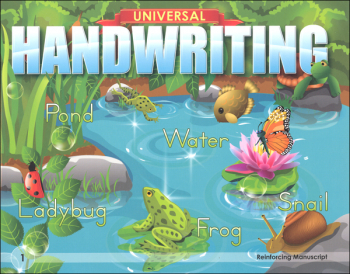 Reinforcing Manuscript - Grade 1 (Universal Handwriting Series)