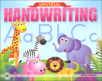 Writing Readiness - Grade PK (Universal Handwriting Series)