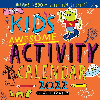 Kid's Awesome Activity 2021 Calendar
