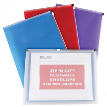 Zip 'N Go Reusable Envelope