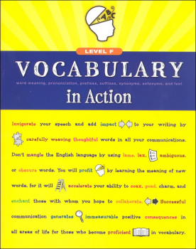 Vocabulary in Action Level F Student Edition