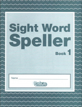 Sight Word Speller: Book 1