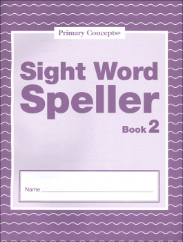 Sight Word Speller: Book 2