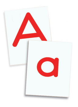 Alphabet Letter Tiles 2-Sided, upper/lower cs