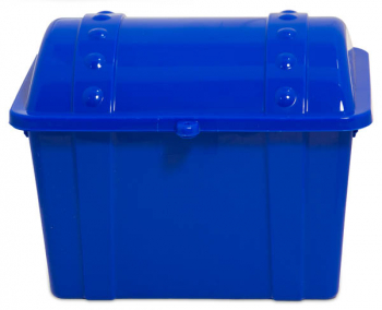 Junior Treasure Chest - Opaque Blue