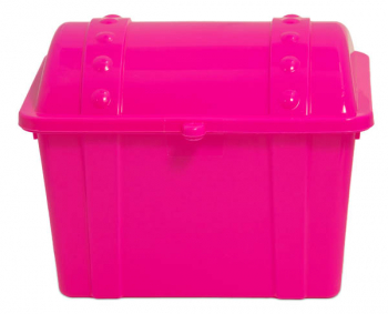 Junior Treasure Chest - Opaque Hot Pink