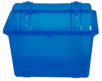 Junior Treasure Chest - Sparkle Blue