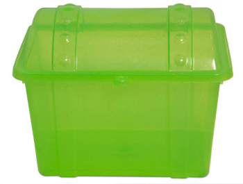 Junior Treasure Chest - Sparkle Lime