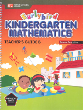 Earlybird Kindergarten Math Common Core Edition Teacher Guide B