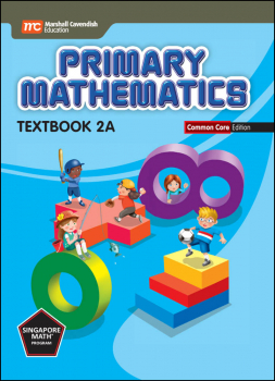 Primary Mathematics Common Core Edition Textbook 2A