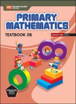 Primary Mathematics Common Core Edition Textbook 5B