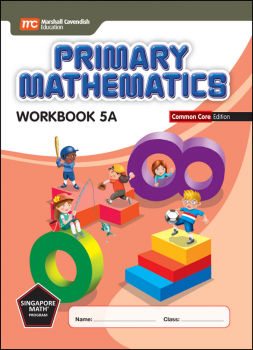 Primary Mathematics Common Core Edition Workbook 5A