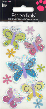 Butterflies Essentials Stickers