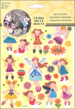 Fairies Pop Up Stickers (2 sheets)