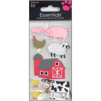 Farm Animals Essentials Stickers
