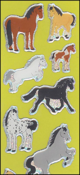 Horses Essentials Stickers