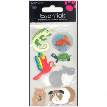 Small Pets Essentials Stickers