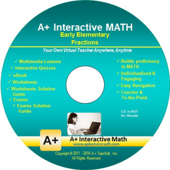 Fractions (Elementary) Math CD-ROM (Supplemental Software)