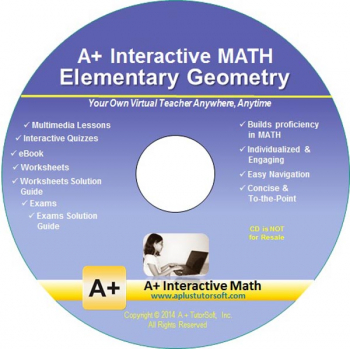 Geometry (Elementary) Math CD-ROM (Supplemental Software)