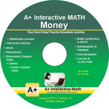 Money Math CD-ROM (Supplemental Software)