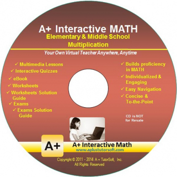 Multiplication Supplemental Math CD-ROM (Supplemental Software)