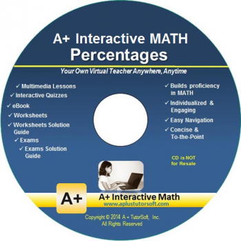 Percentages Math CD-ROM (Supplemental Software)