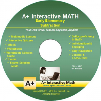 Subtraction Supplemental Math CD-ROM (Supplemental Software)