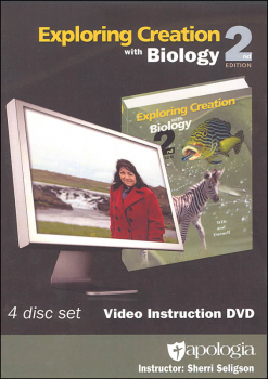 Exploring Creation with Biology Instructional DVD 2nd Edition