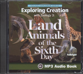 Exploring Creation with Zoology 3 MP3 Audio CD