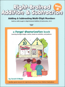Right-Brained Addition & Subtraction, Vol. 2