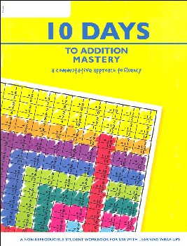 10 Days to Addition Mastery Workbook (64 pgs)