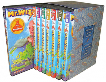 Mr. Wizard's World DVD Gift Set (Volumes 1-8)