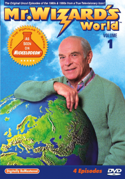 Mr. Wizard's World DVD Volume 1 (4 Episodes)