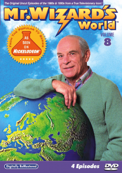 Mr. Wizard's World DVD Volume 8 (4 Episodes)
