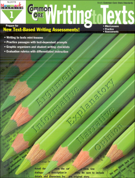 Common Core Writing to Texts - Grade 1