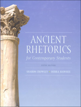 Ancient Rhetorics for Contemporary Students