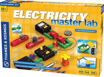 Electricity: Master Lab - Physics of Electricity (Experiment Kit)