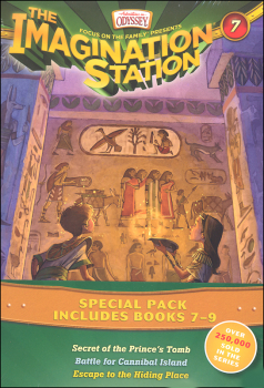 Imagination Station Books 7-9 Pack (Adventures In Odyssey)