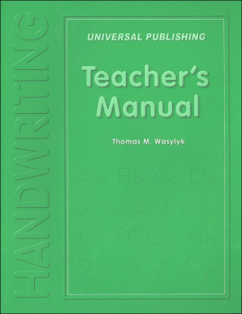 "Handwriting Teacher's Manual ""Original Series"""