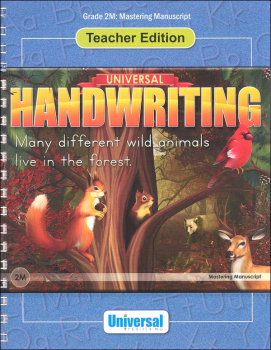 Mastering Manuscript - Grade 2M Teacher Edition (Universal Handwriting Series)