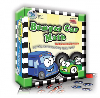 Bumper Car Math: Multiplication/Division Game