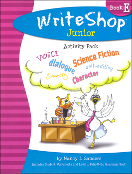 WriteShop Junior Level E Activity Pack