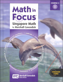 Math in Focus Course 3 Student Book B (Grade 8)