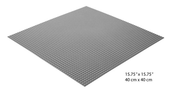Baseplate (Large 15.75  x 15.75 ) for bricks
