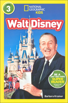 Walt Disney (National Geographic Reader Level 3)