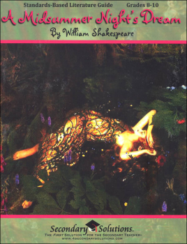 Midsummer Night's Dream (Standards-Based Literature Guide)