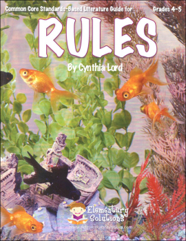 Rules (Standards-Based Literature Guide)
